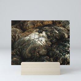SURFACE SHIFTING Mini Art Print