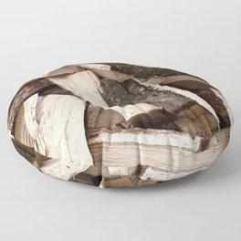 Firewood Floor Pillow