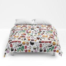 Kawaii Harry Potter Doodle Comforters