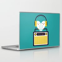 radio Laptop & iPad Skins featuring Radio Mode Love by Picomodi