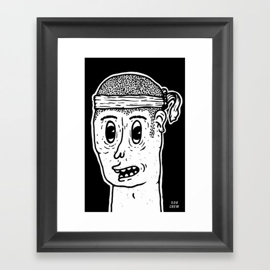 Mister B Framed Art Print