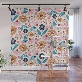 Wild Flowers  Wall Mural