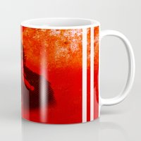 jay z Mugs featuring Jay by Fimbis
