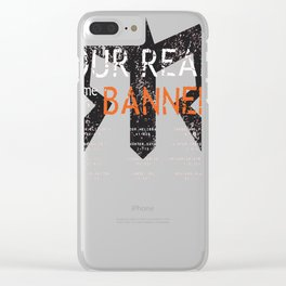 RAGNAR - Our Real Name Was Banned Clear iPhone Case