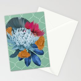 Waratah flower Stationery Cards