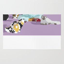 Cat Sitter Rug