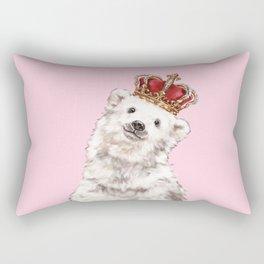 Prince Baby Polar Bear Rectangular Pillow