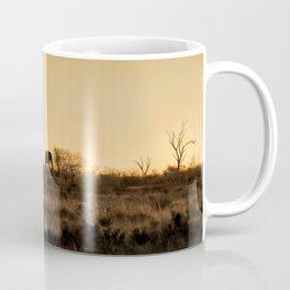 Elephant Sunset Silhouette Coffee Mug