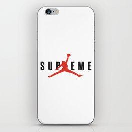 supreme jump iPhone Skin