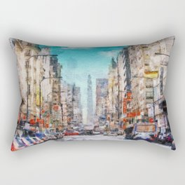 Buenos Aires colors Rectangular Pillow