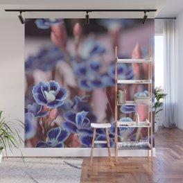 She Blue Wall Mural