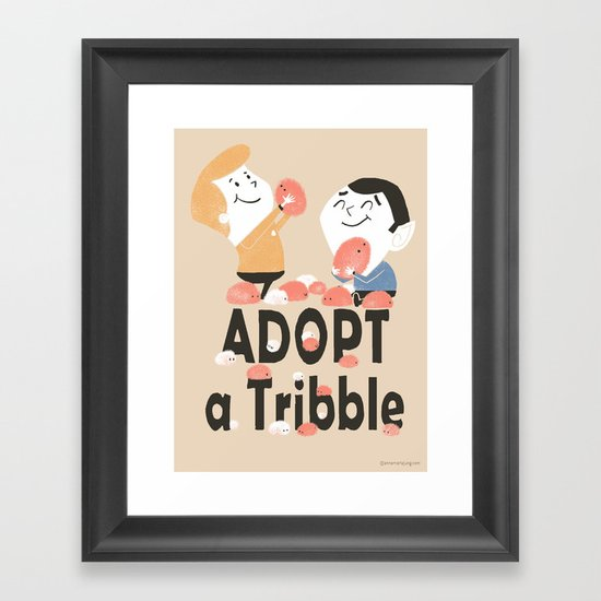 Adopt a Tribble Framed Art Print