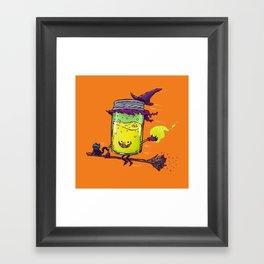 The Witch Jam Framed Art Print