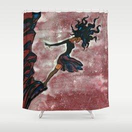 A Dream Suicide Shower Curtain
