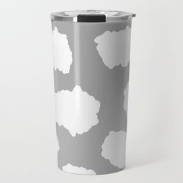 Scribble Clouds Travel Mug