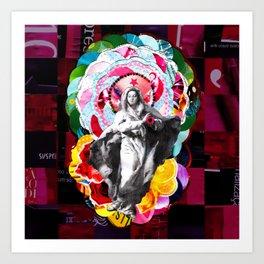 Maria (mãe de Jesus) Mary (mother of Jesus) #2 Art Print