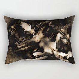 OZONE FISSION ,version 3 Rectangular Pillow