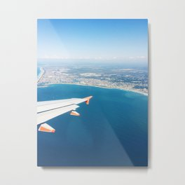 Flying Over Sunshine Coast, Australia #1 Metal Print