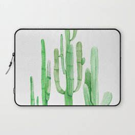 Three Amigos Cacti Green Laptop Sleeve