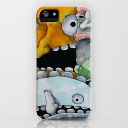 Get in Here iPhone Case