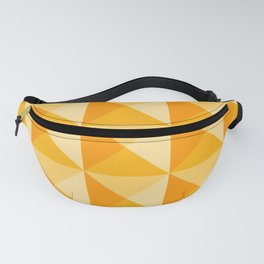 Geometric Prism in Sunshine Yellow Fanny Pack