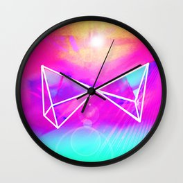 Prismatic III Wall Clock