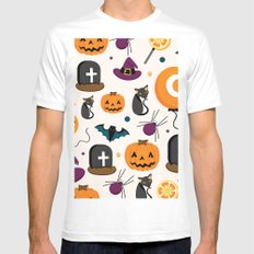 HALLOWEEN3 Mens Fitted Tee MEDIUM White