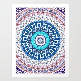 Kaleidoscope Lake Art Print