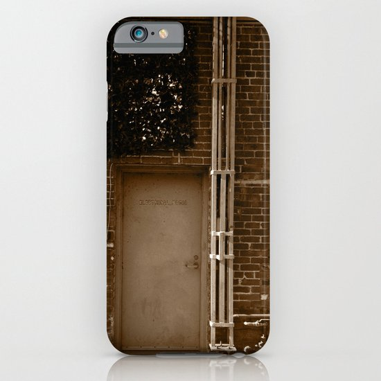 Electrical room. iPhone & iPod Case