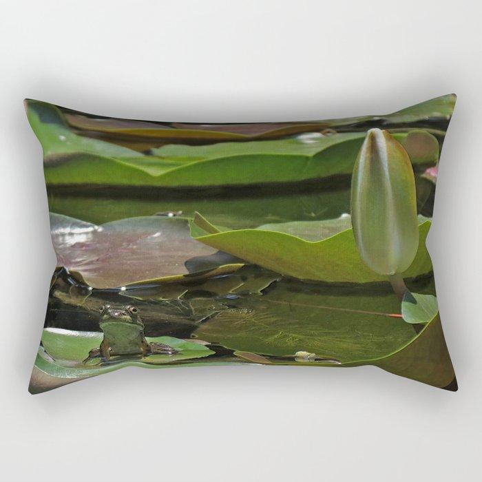 Green Giant Rectangular Pillow