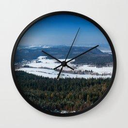 Szczeliniec Wall Clock