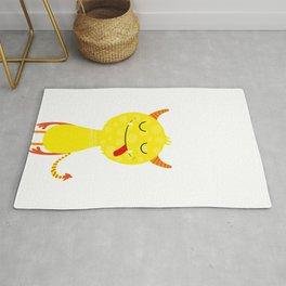 Funny little monster #society6 #decor Rug