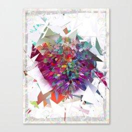 Techno Art by Nico Bielow Canvas Print