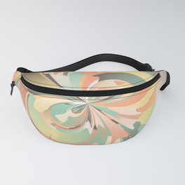 Digital watercolor Fanny Pack