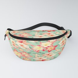 Spring Amaryllis and Butterflies Fanny Pack