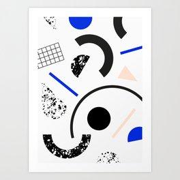 Pieces Art Print