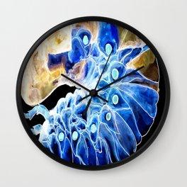 Dung Beetle Larva Wall Clock