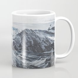 Snowy Mountains of Alberta Coffee Mug