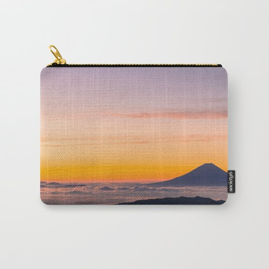 Mountain in the Clouds Carry-All Pouch