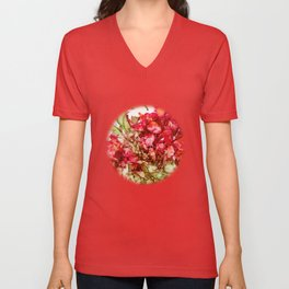Cactus Flower Unisex V-Neck