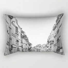 Street in Paris Rectangular Pillow