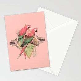 PARROT GARDEN Stationery Cards