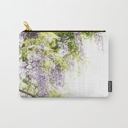Wiisteria Carry-All Pouch