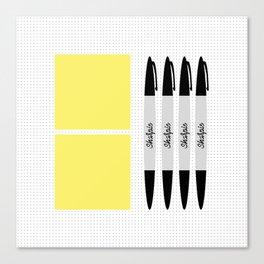 UX Design Toolkit Canvas Print
