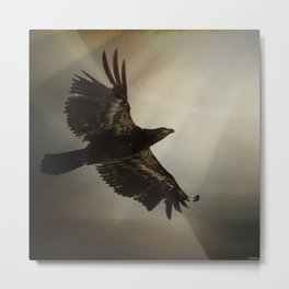 The Light of Daring Metal Print