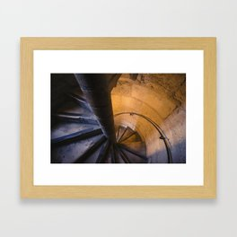 Notre Dame Stairs Framed Art Print