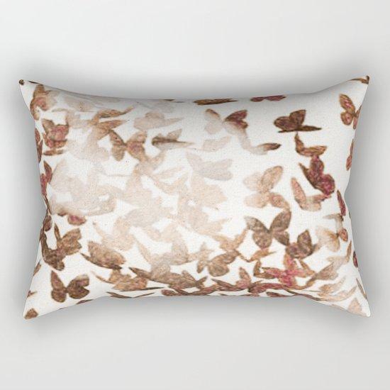 Butterfly People 3 Rectangular Pillow