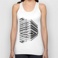 the grand budapest hotel Tank Tops featuring Hotel Merriot Budapest. Deconstruction by Villaraco