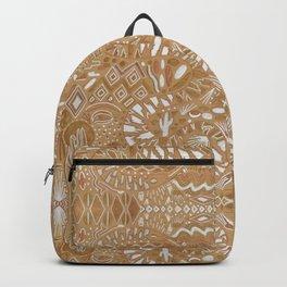 Metallic Snake Backpack