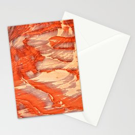 Colorful sandstone in Petra, Jordan (Picture 1) Stationery Cards